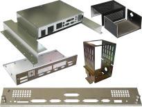 Gehäusebau, Teile für Gehäuse, Frontplatten