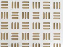 Lochblech mit individuellen Muster