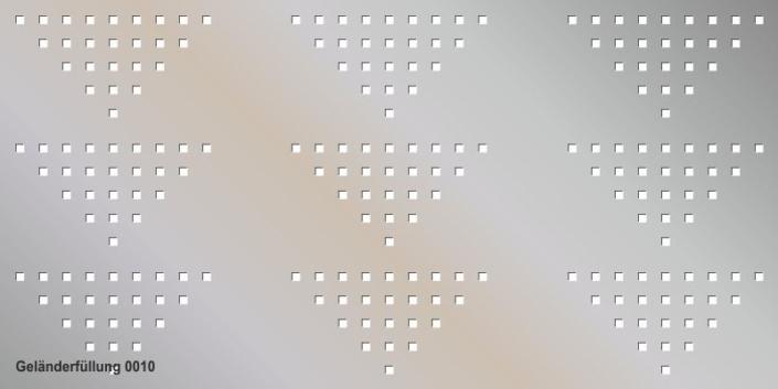 Geländerfüllung Muster 0010