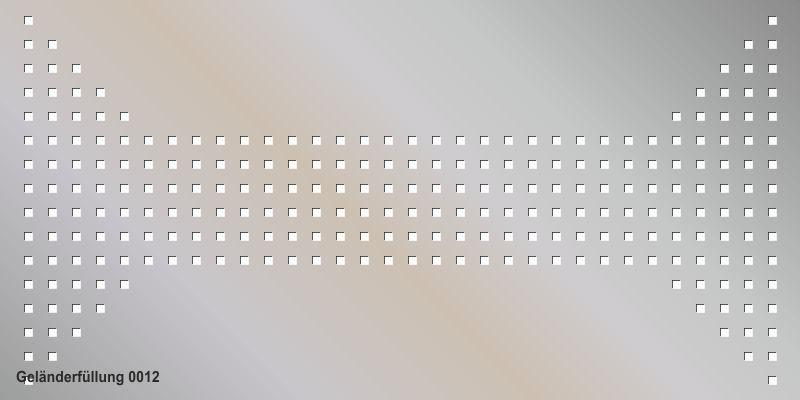 Geländerfüllung 0012