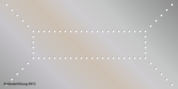 Geländerfüllung Muster 0013