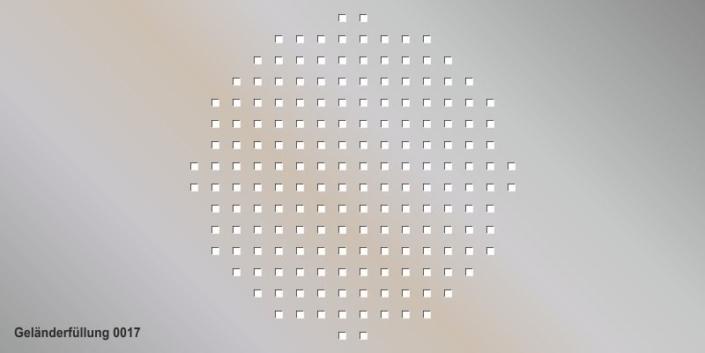 Geländerfüllung Muster 0017