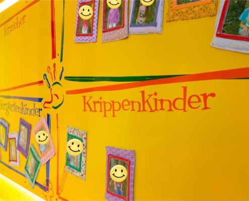 Magnettafel Pulverbeschichtet für den Kindergarten